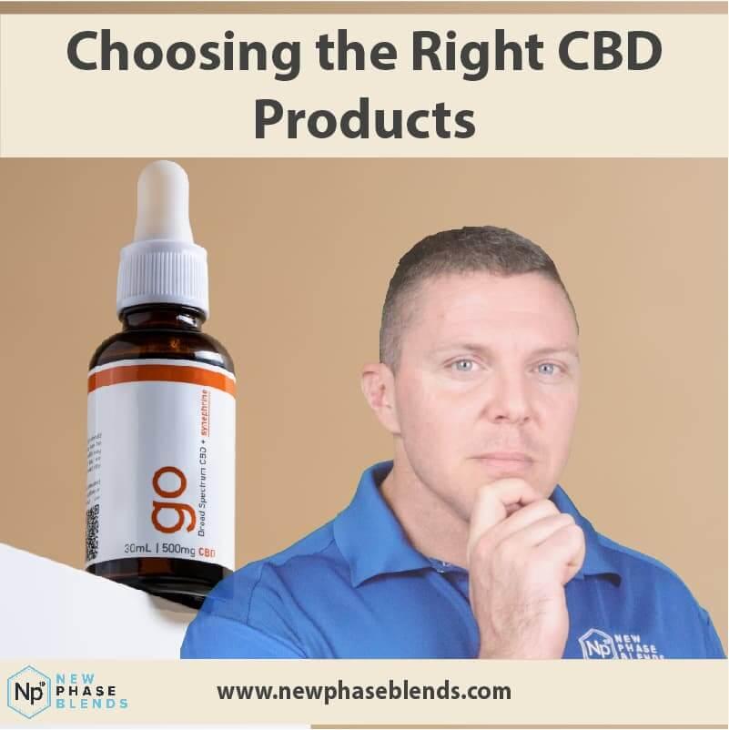 Choosing The Right Cbd Product