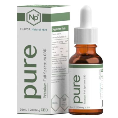 Hemp CBD oil drops