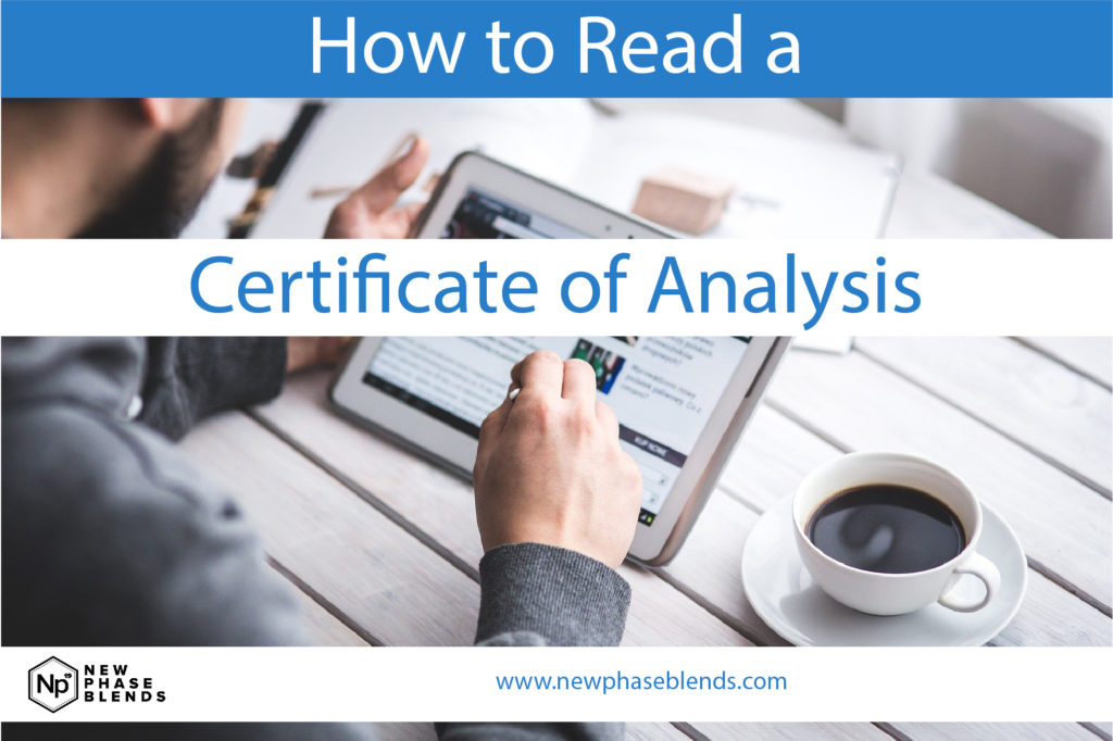 How to Read a Certificate of Analysis for CBD Featured