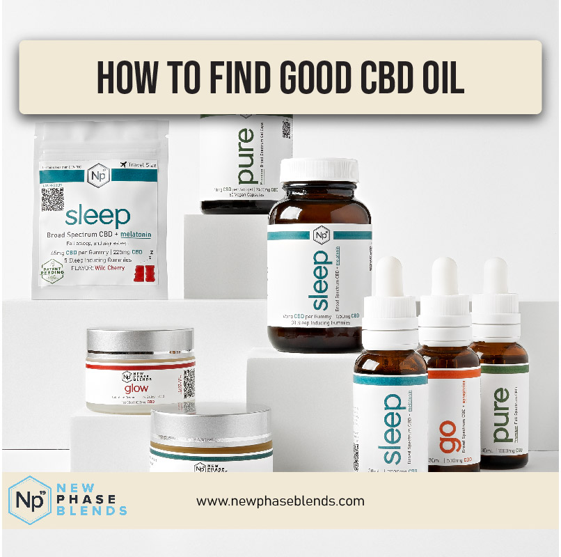How To Find Good Cbd Oil Thumbnail