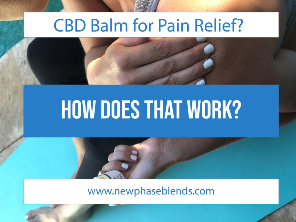 Cbd Balm For Pain Relief