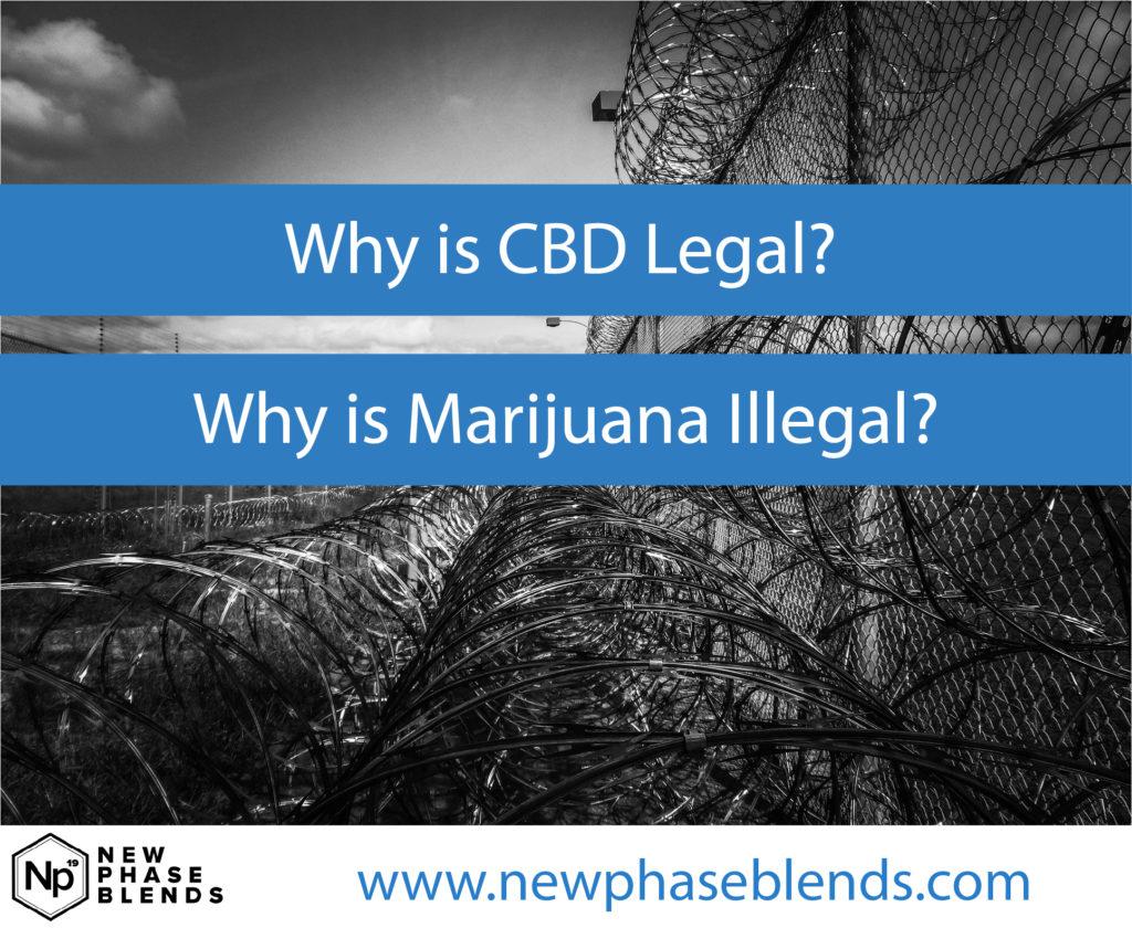 CBD Legal Marijuana Illegal Featured