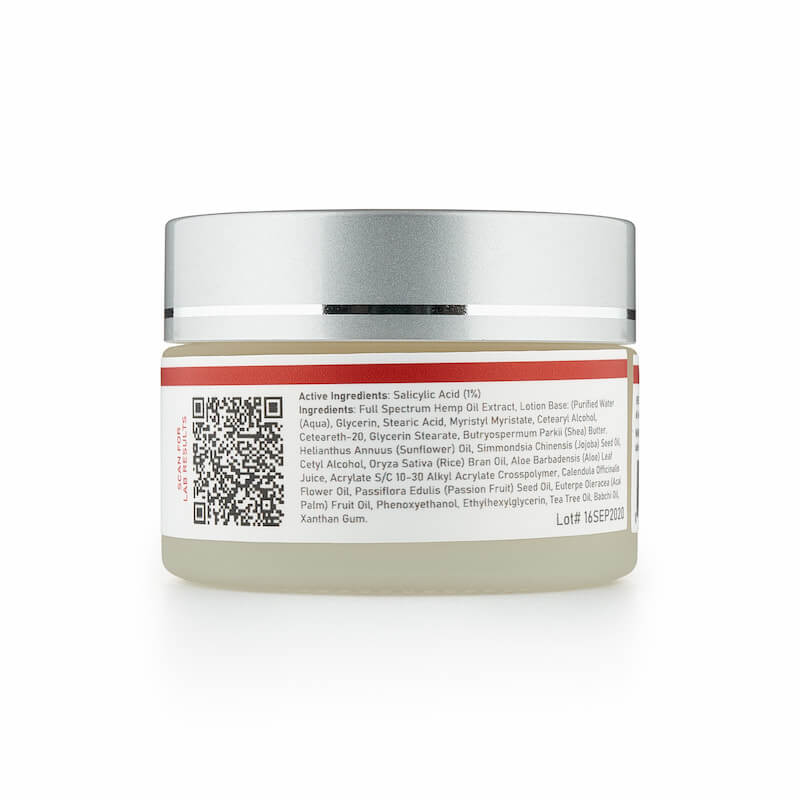 Cbd Acne Cream Ingredients