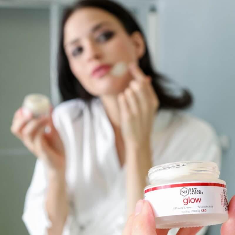 Hemp CBD for acne treatment