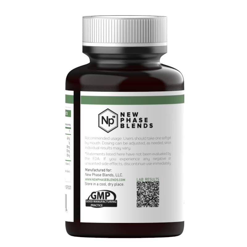 Vegan CBD oil capsules