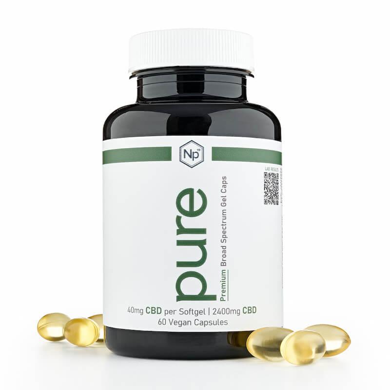 vegan CBD gel capsules
