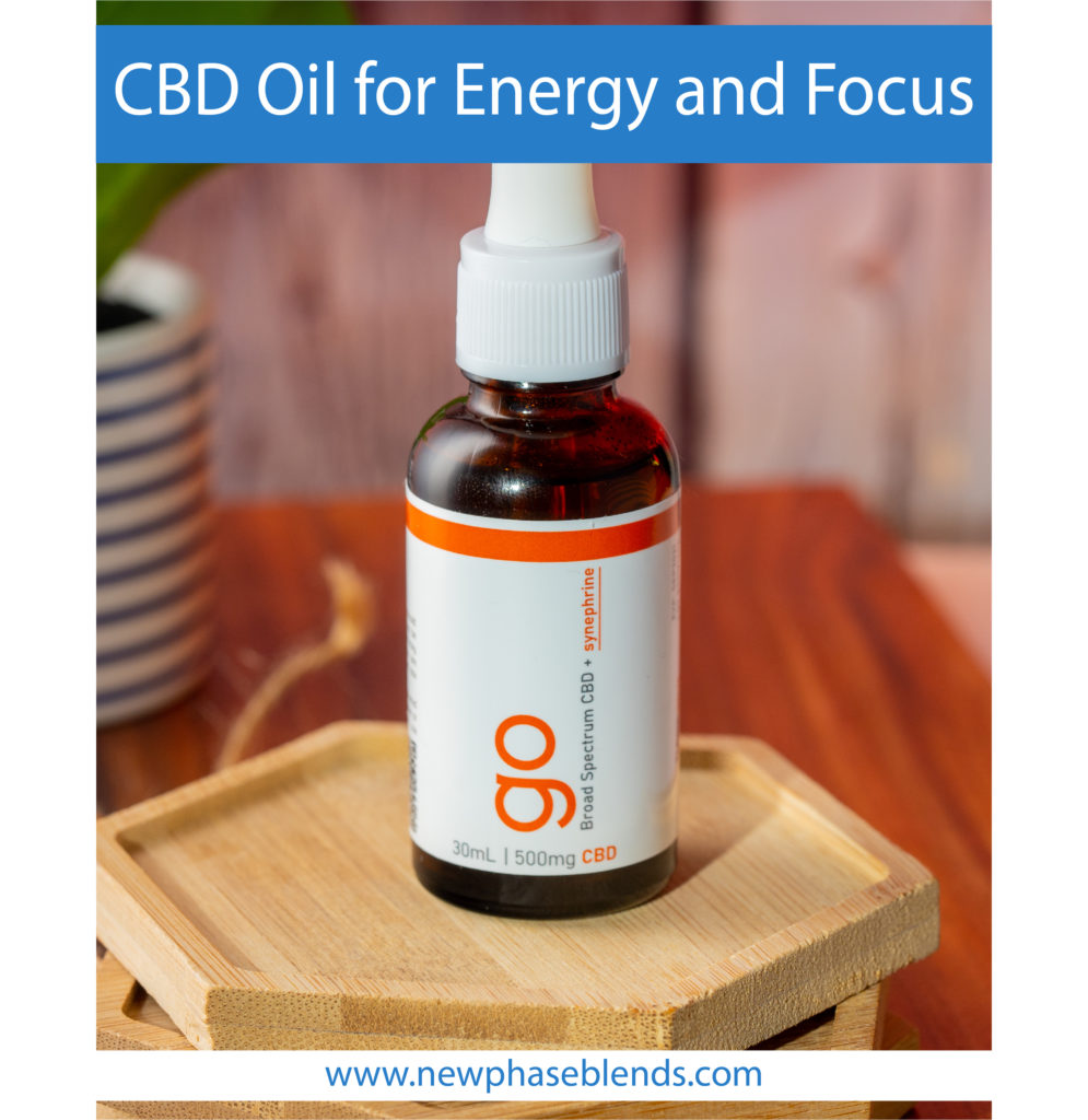 CBD Oil for Energy and Focus