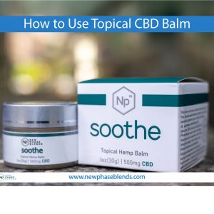 How to Use Topical CBD Balm