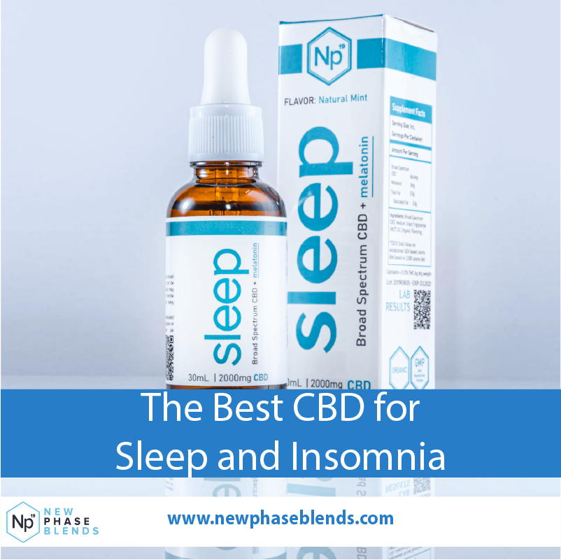 Best CBD Product for Sleep and Insomnia