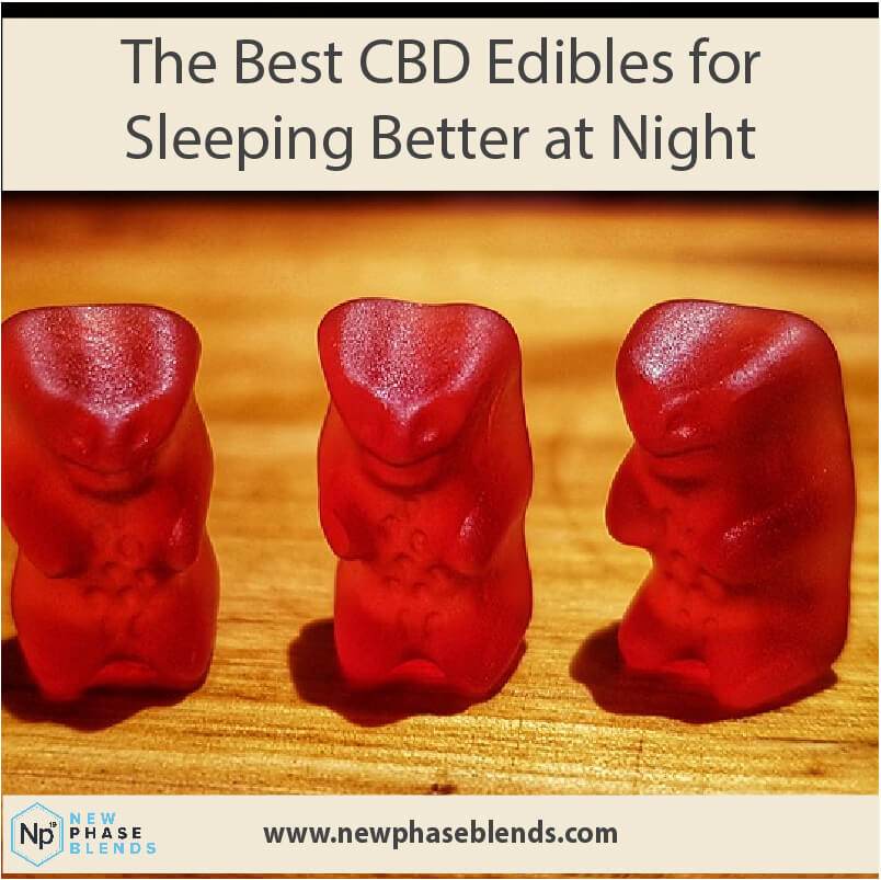 Best CBD Edibles for Sleep Main Picture