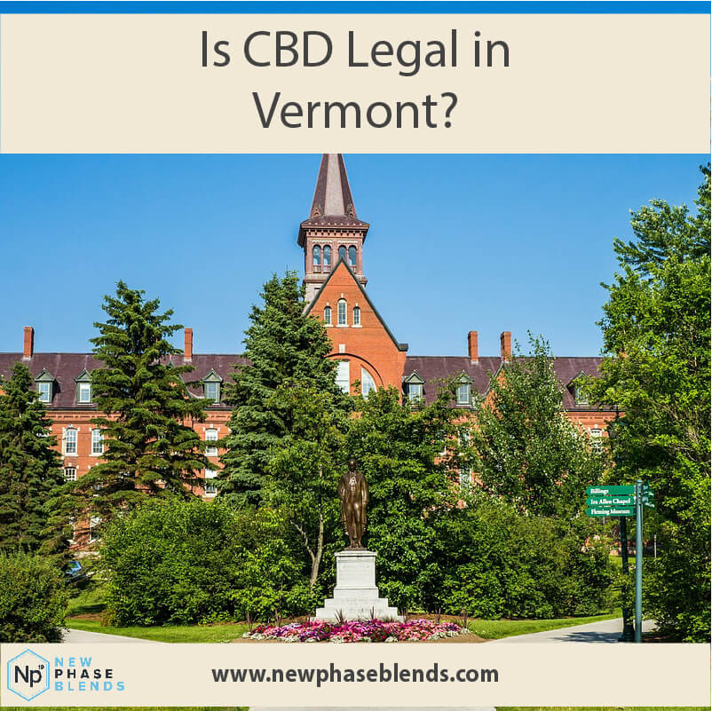 Is CBD legal in Vermont Main Image
