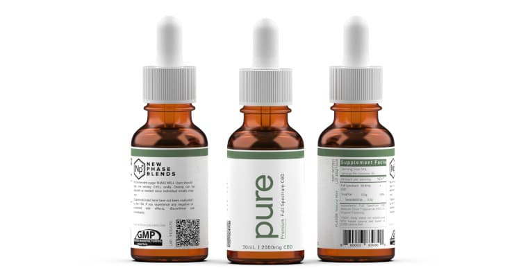 Vegan friendly CBD oil drops