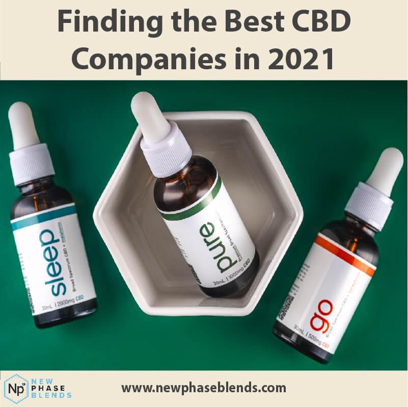 The Best CBD Companies of 2021