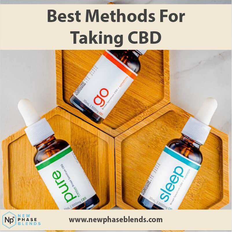 Best methods for taking CBD article thumbnail