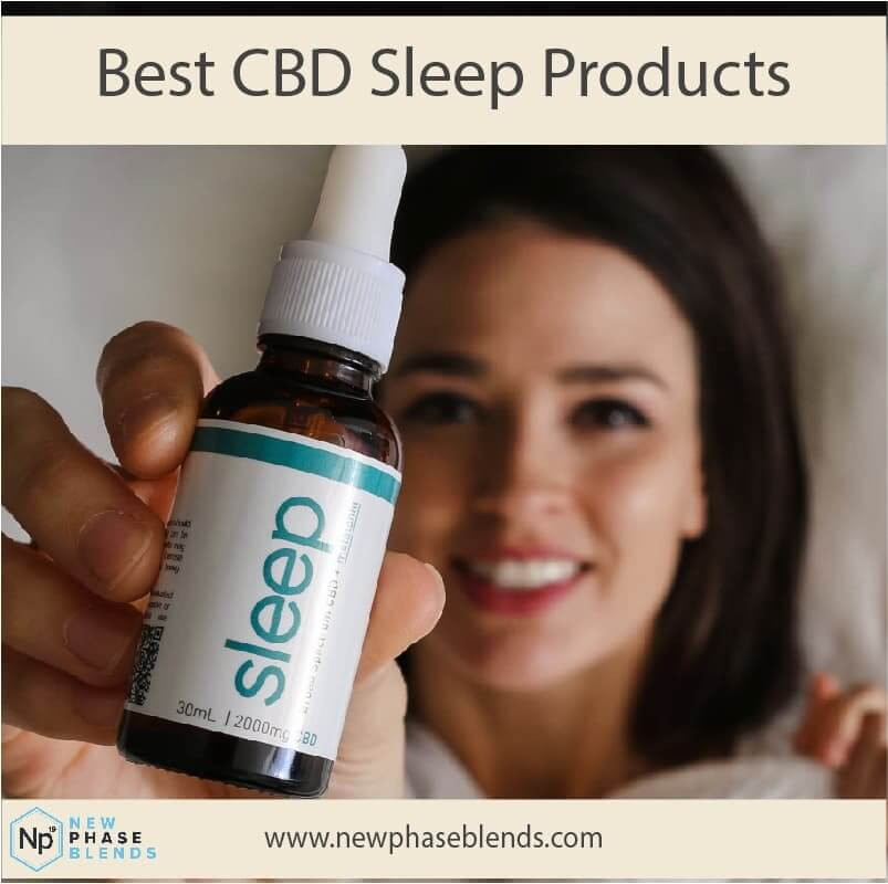 best CBD sleep products article thumbnail