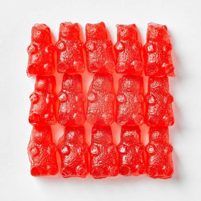red CBD gummies