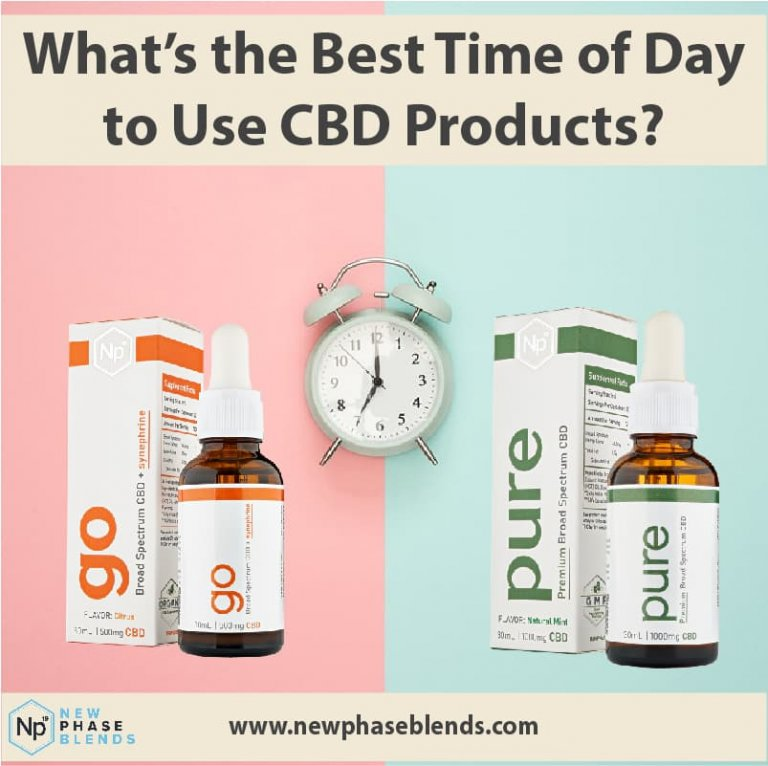 best time of day to take CBD