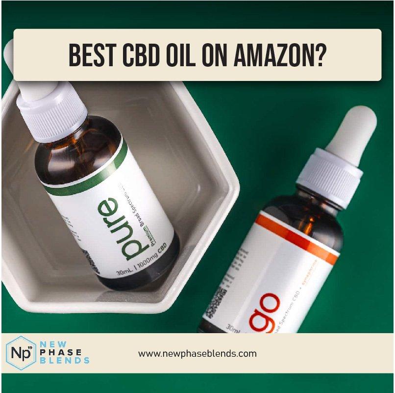 Best Cbd Oil On Amazon Thumbnail
