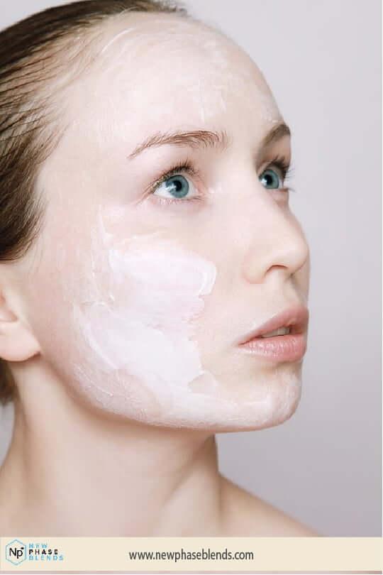 Acne Cream On Forehead