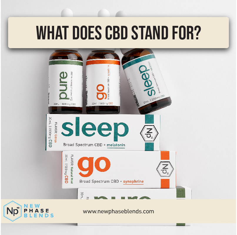 What Does Cbd Stand For Thumbnail
