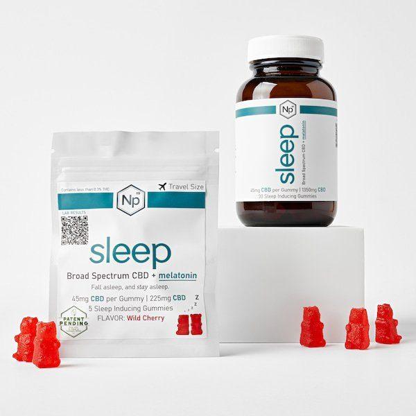 Sleep Gummies On Blocks